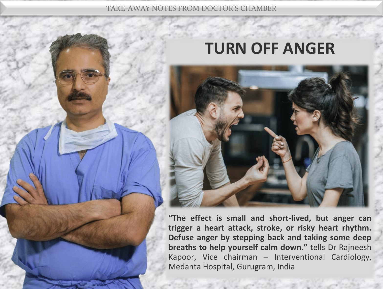 Heart attack Risk with Anger Outburst - Study